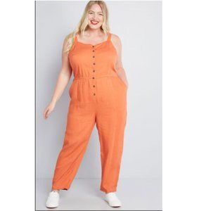 Modcloth Every Waking Momentum Jumpsuit NEW 4X NWT